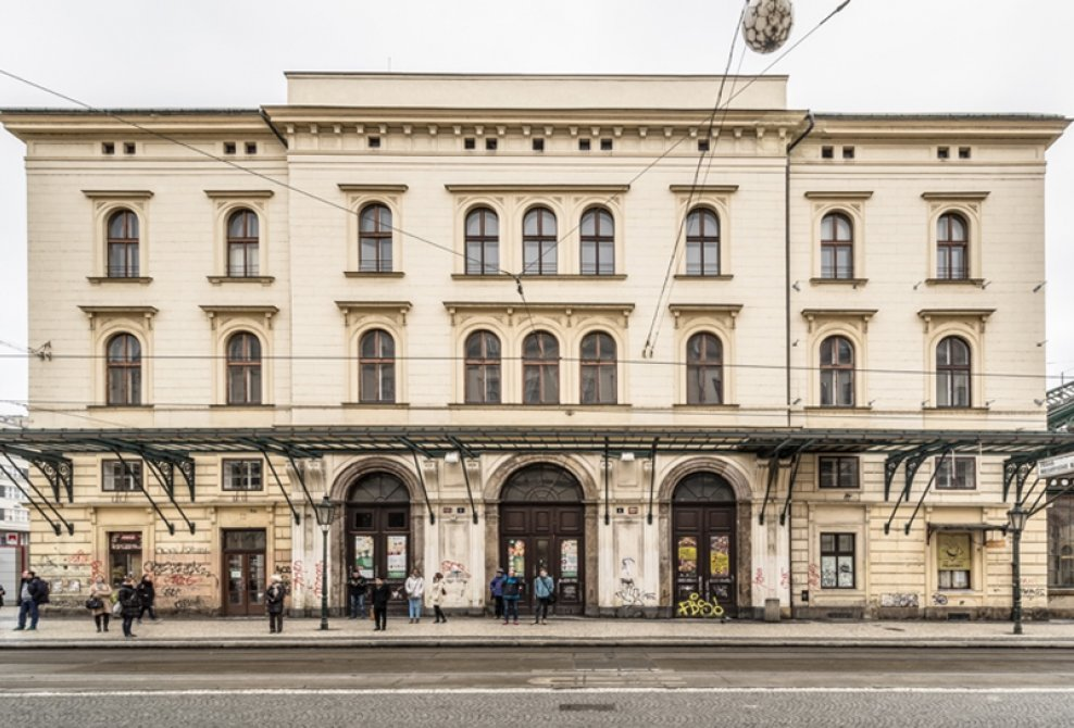 Front view from Havlíčkova Street