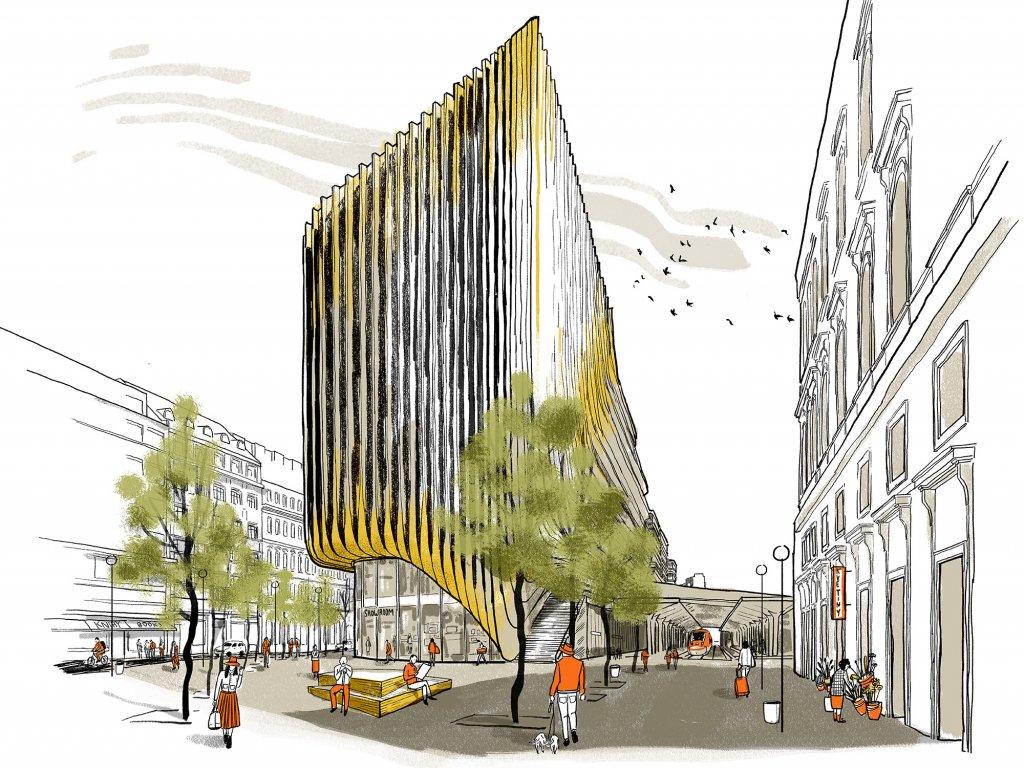 Nové náměstí u Masarykova nádraží