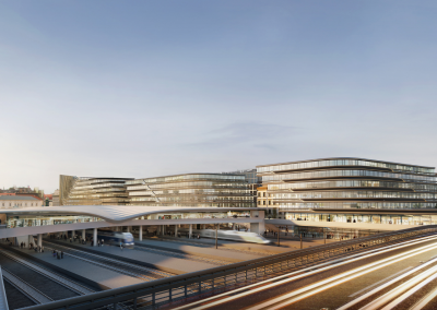 Marek Dospiva (Penta) a Patrik Schumacher (Zaha Hadid Architects) o nové Masaryčce